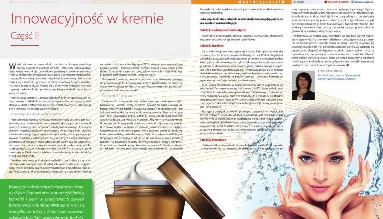 Innowacyjność w kremie, dr Anna Oborska, Biotechnologia_770
